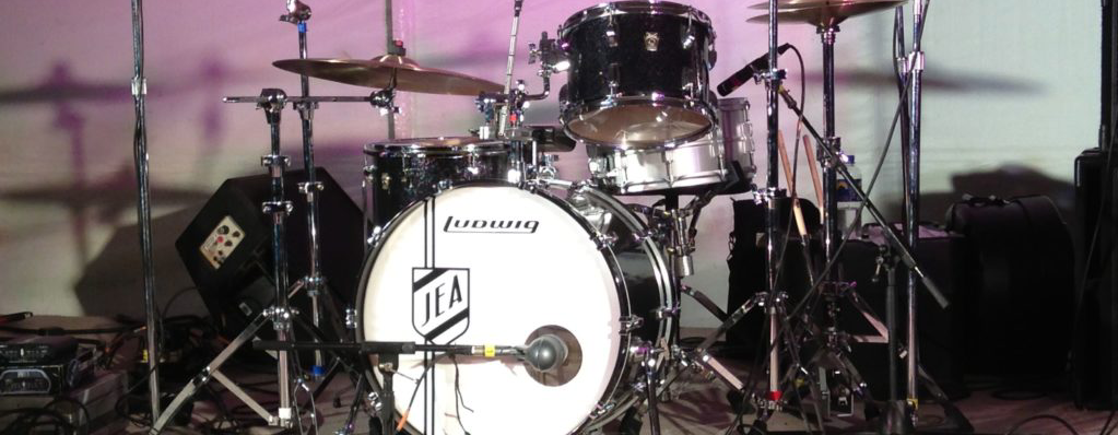 Jim Anderson drum kit